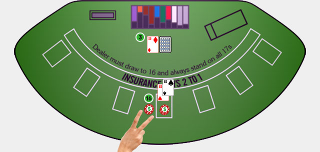 Blackjack Player Move Splitting