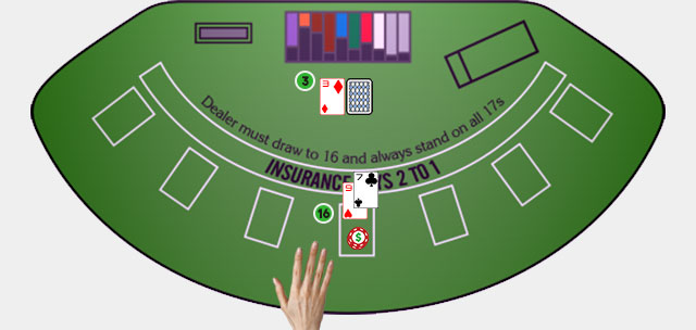 Blackjack Player Move Standing