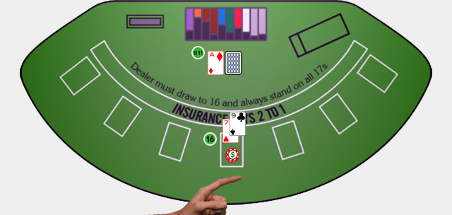 Blackjack Player Move Surrender