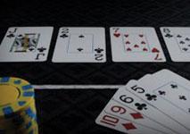 Omaha Holdem Poker Hand