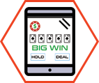 Video Poker Tablet Icon