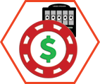 Video Poker Bet Size Icon