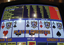Video Poker Quad Aces