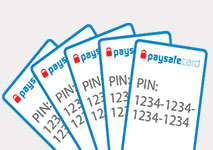 PaySafeCard Casinos Cards
