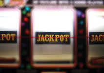 Jackpot on 3-Reel Slot Machine