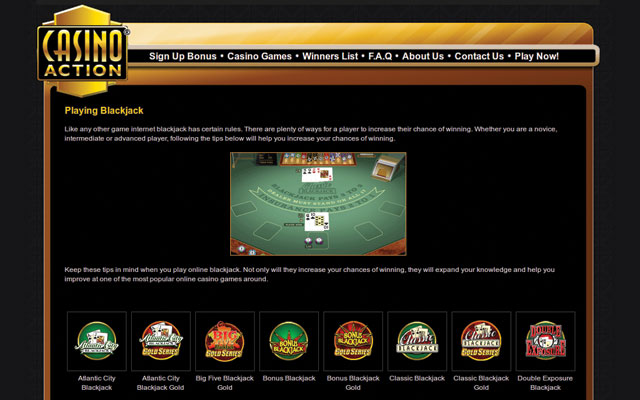 Casino action 1250 free-play