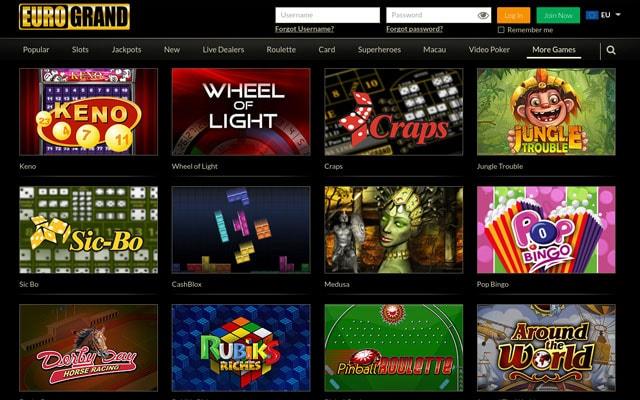 euro casino online bose gaming