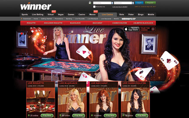 Winner live casino review