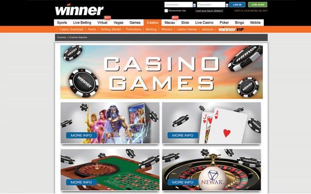 online casino winner europe entertainment ltd