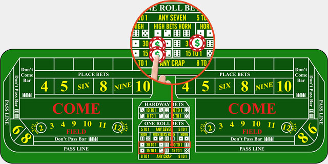 Betting the numbers in craps