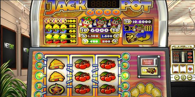 3-reel Slots – Jackpot 6000
