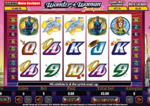 Wonder Woman Slot by Cryptologic