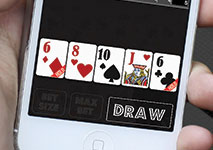 iPhone Video Poker