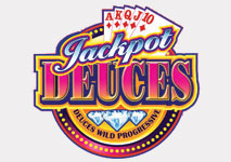 Jackpot Deuces Video Poker Logo