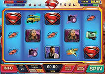Man of Steel slot by Platech
