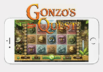 Mobile Slot Gonzo's Quest