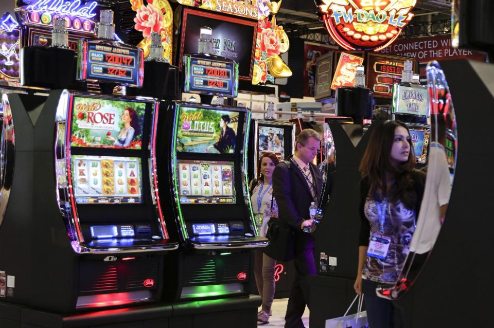 Las vegas slot machine companies