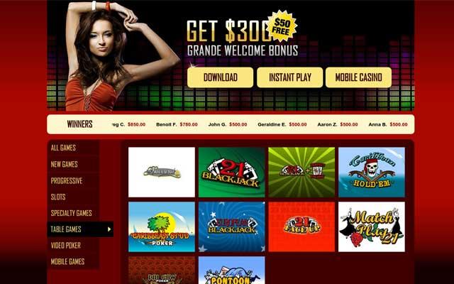 Grande Vegas Casino 1