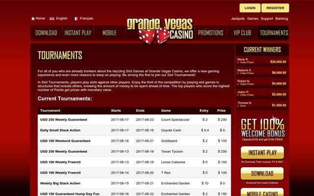 Grande Vegas Casino 4