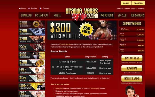 Grande Vegas Casino 6