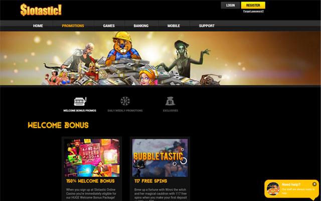 Slotastic Casino Trust Score Review Bonuses Games