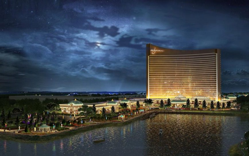 Work on Wynn Boston Harbor Casino Resort Progresses