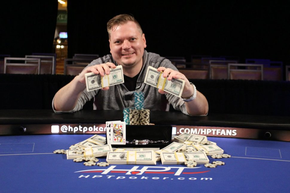 Matt Paten Claims the Throne at the HPT St. Charles Main Event