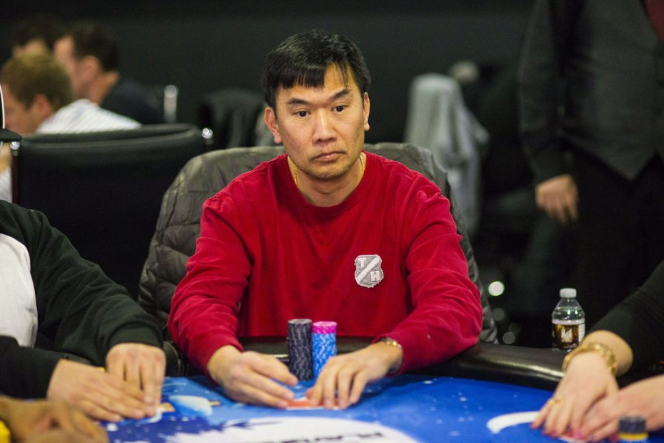 Henry Tran Leads the Chip Count During Day 1b of WSOPE Main Event