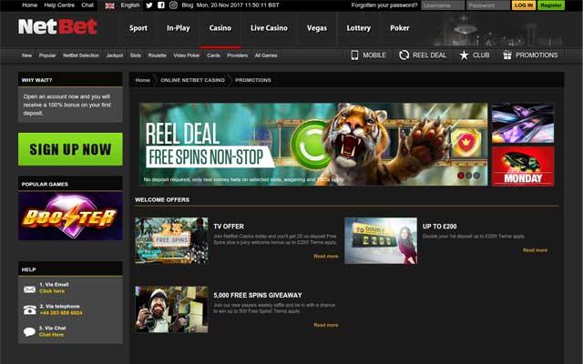 NetBet Casino 6