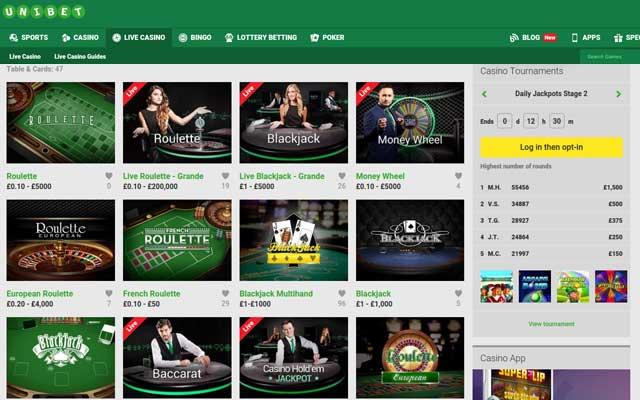 Unibet Casino 2