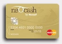 neosurf card
