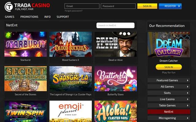 Trada Casino 1