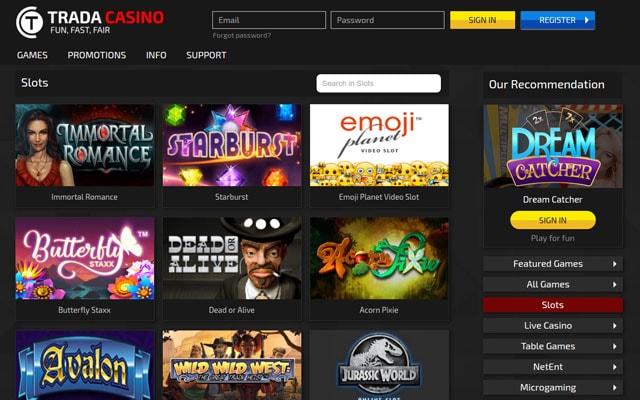 Trada Casino 4