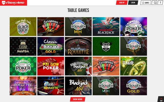 Vegas Hero Casino 1
