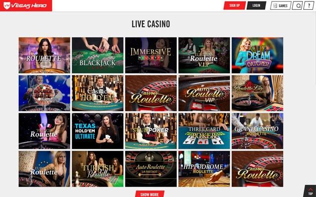 Vegas Hero Casino 3