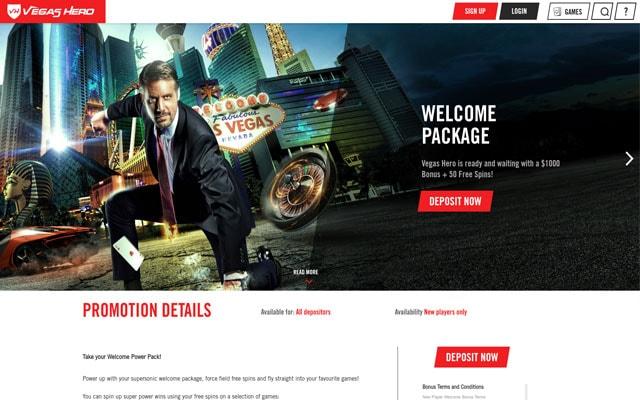Vegas Hero Casino 5