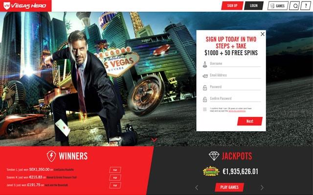 Vegas Hero Casino 7