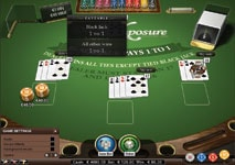 Double Exposure Blackjack Pro features