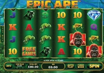 epic ape slot theme