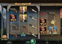 halloween slot theme