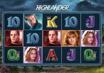 highlander slot theme