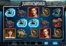 Jurassic World Slot theme
