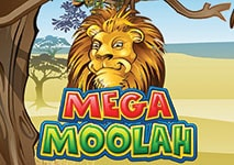 mega moolah slot featured