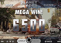 planet of the apes mega win