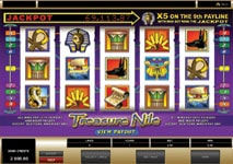 Treasure Nile Slot Theme