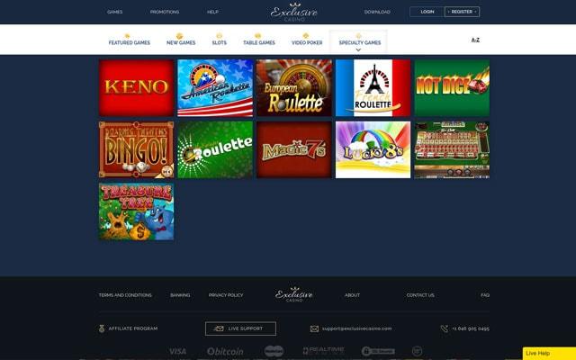 Exclusive Casino 1