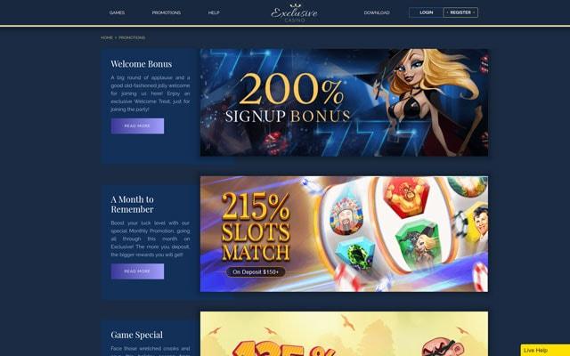 Exclusive Casino 3