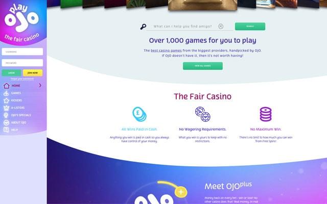 PlayOJO Casino 6