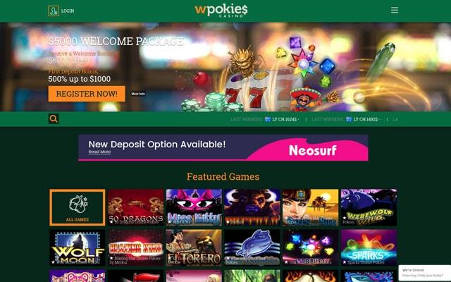 WPokies Casino 4