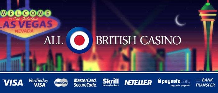 All British Casino Banking